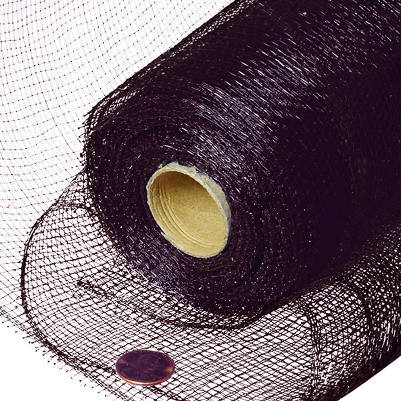 """10"""" X 10 Yards Chocolate Deco Mesh  by Paper Mart"""