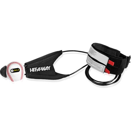 SKLZ Hit-A-Way Portable Baseball Swing Trainer Elastic Band ()