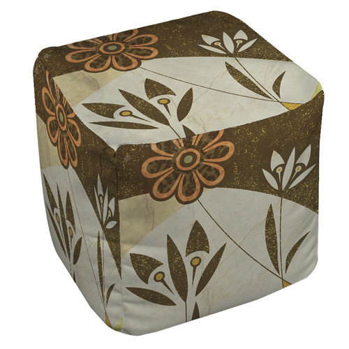 Thumbprintz Graphic Garden Savannah Ottoman