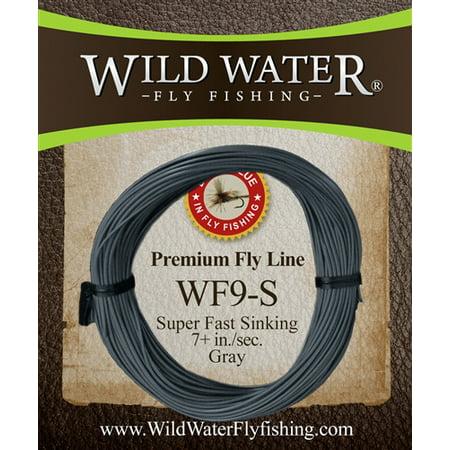 Wild Water Weight Forward 9 Weight Super Fast Sinking Fly Line