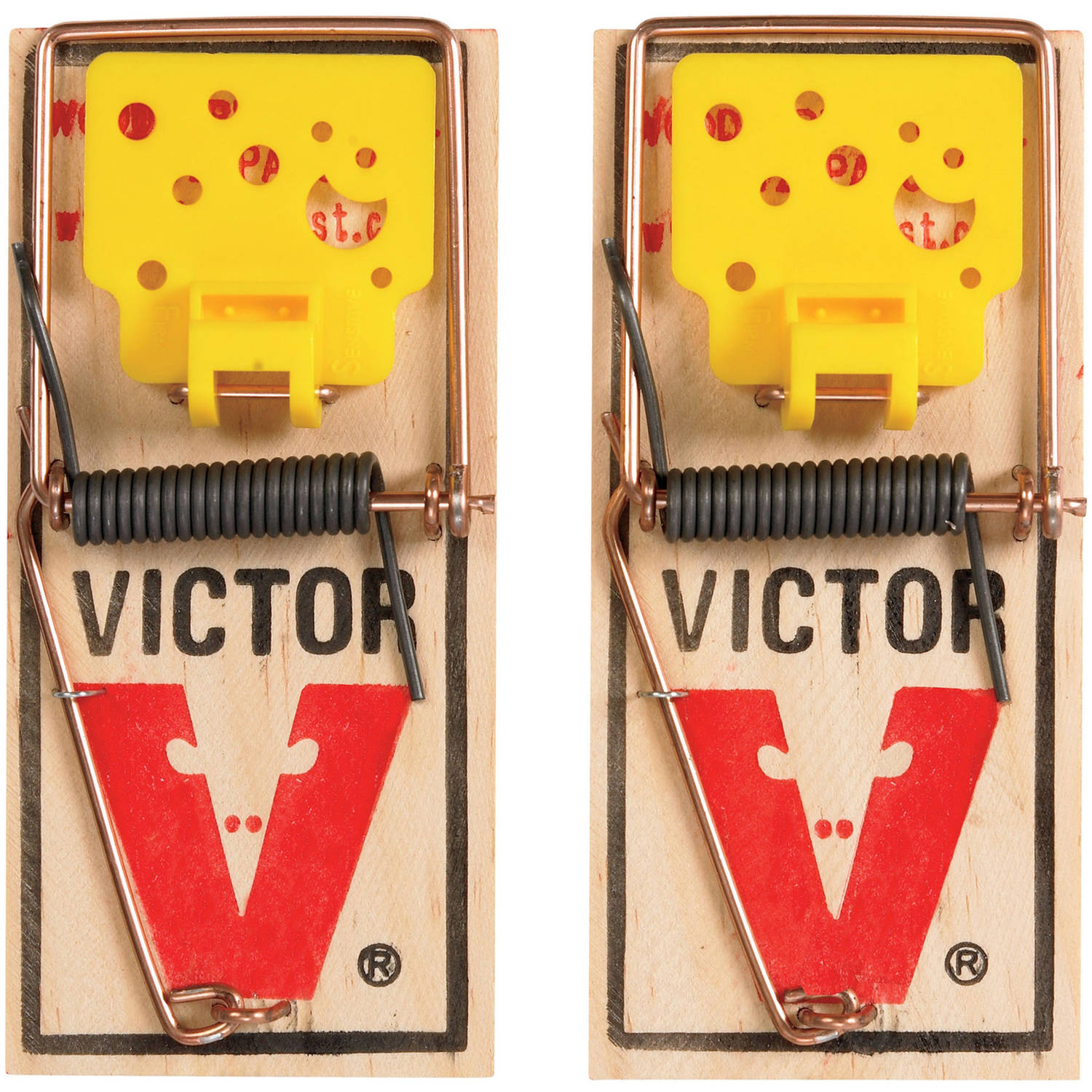 Victor M035 Easy Set Mouse Traps, 2-Count