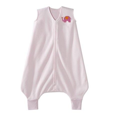 Halo Kids (HALO Big Kids SleepSack Wearable Blanket, Microfleece, Pink Elephant,)