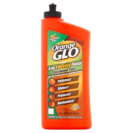 Orange Glo 4-in-1 Monthly Hardwood Floor Polish Orange Scent - 24 fl oz
