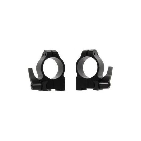 Warne Riflescope Mount Rings for CZ 550 19mm, Quick Detach, Dovetail Medium,