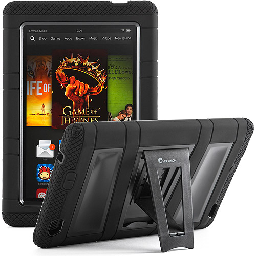 "i-Blason ArmorBox Kindle Fire HD 2013 7"" Kickstand Case with Built-in Screen Protector, Assorted Colors"