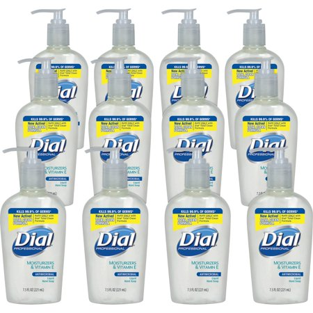Dial, DIA82834, Sensitive Skin Liquid Hand Soap, 12 / Carton,