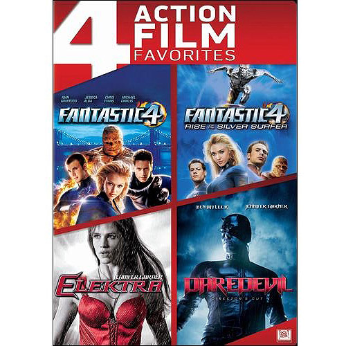 Elektra / Fantastic Four / Daredevil (Director's Cut) / Fantastic Four 2: Rise Of The Silver Surfer