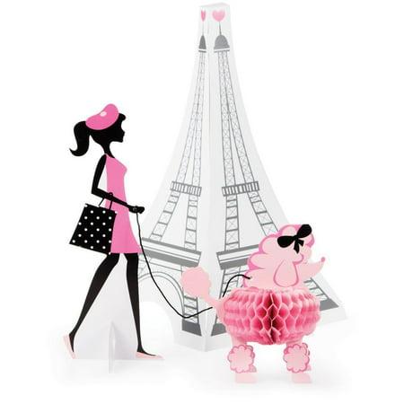 Creative Converting Party In Paris Centerpiece - Paris Centerpieces Ideas