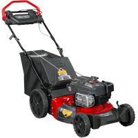 """SNAPPER SP105 21"""" Gas 3-in-1 RWD Lawn Mower with Briggs and Stratton Engine"""