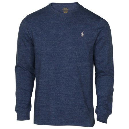 a4325f26b782 Polo Ralph Lauren - Polo Ralph Lauren Men s Long Sleeve Classic Fit Crew  Neck Pony Tee Shirt - Walmart.com