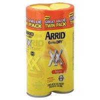Arrid Extra Dry XX Regular Antiperspirant Deodorant, 6 oz, 2 count