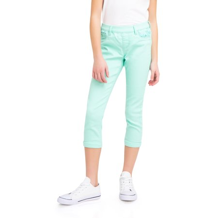 Fashion Color Crop Jegging (Little Girls & Big (7 Cropped)