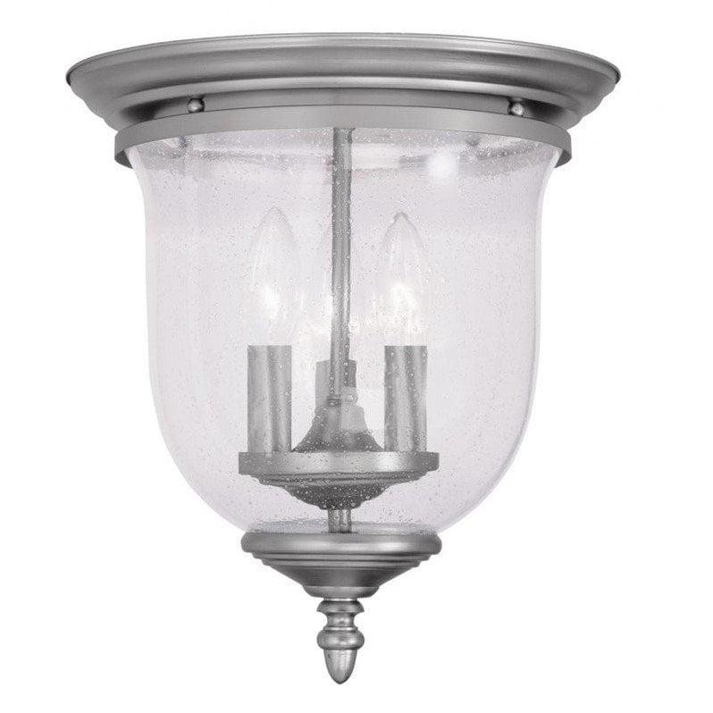 Livex Lighting 5024 Legacy 3 Light Flush Mount Ceiling Fixture