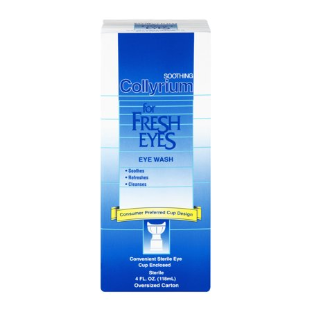 Pour Fresh Eyes Wash Eye 4 oz