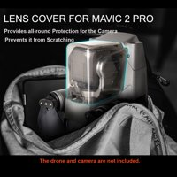 Sunnylife Gimbal Lock Lens Cover Camera Protector Cap for Mavic 2 Pro RC Drone Quadcopter