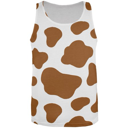 Halloween Costume Brown Spot Cow All Over Mens Tank Top - Ikea Halloween Spot