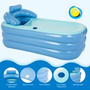 "PVC 63"" Inflatable Bathtub Kit Adult Size"