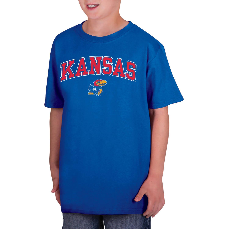 NCAA Kansas Jayhawks Boys Classic Cotton T-Shirt