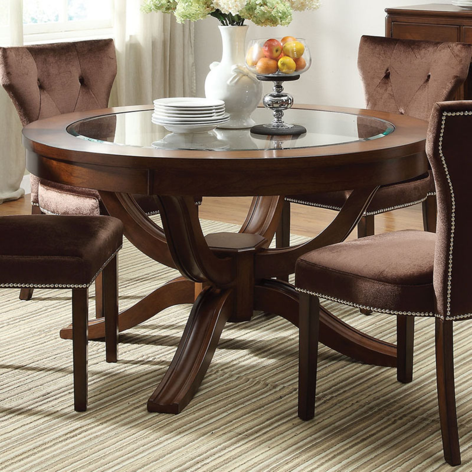 Acme Furniture Kingston Round Dining Table