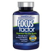 Focusfactor Memory Concentration Formula Tablets, 150 Count, Focus Factor is America's #1 Brain Health Supplement for Over 15 Years By Focus Factor From USA