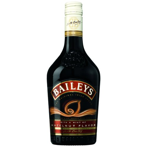 Bailey's Irish Cream  Liqueur with a Hint of Hazelnut Flavor, 750 mL