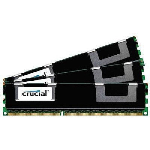 Crucial 48GB Kit (16GBx3) DDR3L 1333 MT/s (PC3-10600) DR x4 RDIMM 240-Pin Server Memory CT3C16G3ERSLD41339