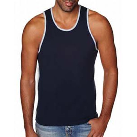 f15cdd5578fed Next Level Apparel - Next Level Men s Jersey Solid Tank Top 3633 ...
