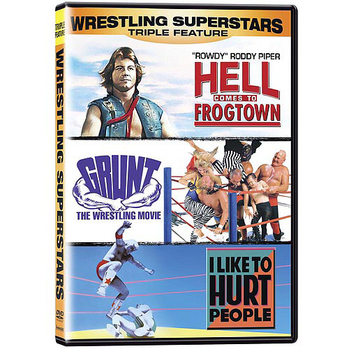 Wrestling Superstars Collection: Hell Comes To Frogtown / I Like To Hurt People / Grunt: The Wrestling Movie (Widescreen)