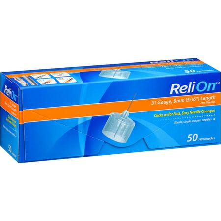 UPC 681131101042 - Reli-On Pen Needles, 50 count | upcitemdb com
