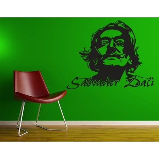 Style and Apply Salvador Dali Wall Decal Vinyl Art Home Decor