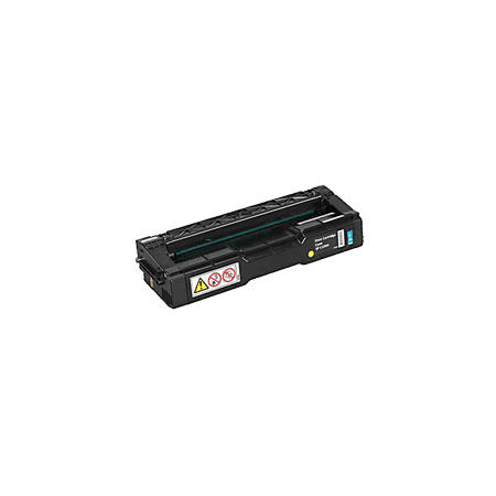 Zoomtoner Compatible RICOH 406047 Laser Toner Cartridge Cyan for Lanier SP C221SF - image 1 of 1