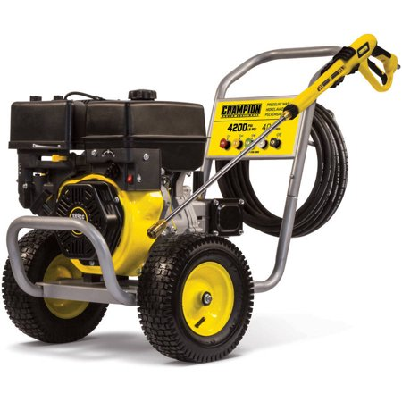 Champion 100386 4200-PSI 4.0-GPM Wheelbarrow-Style Gas Pressure Washer