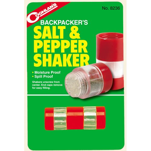 Coghlan's Backpacker Salt and Pepper Shakers