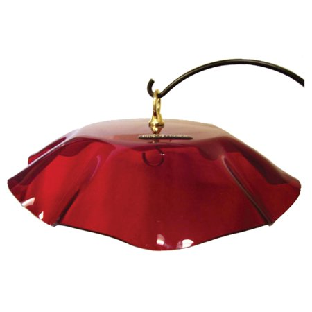 Birds Choice Scalloped Weather Guard for Bird Feeder Bird Feeder Weather Dome