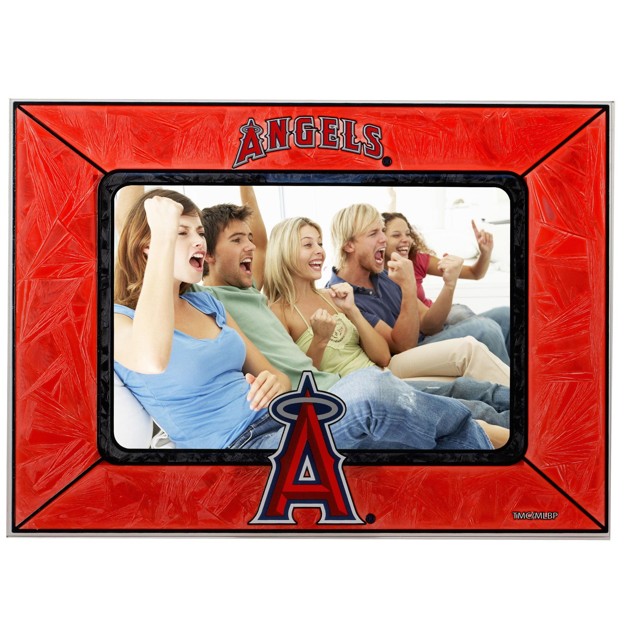 Los Angeles Angels Horizontal Art Glass Frame - No Size