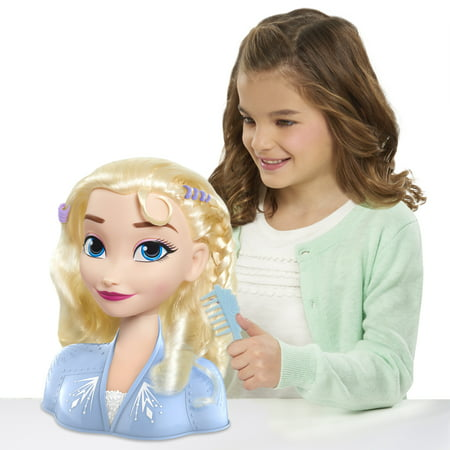 Disney's Frozen 2 Elsa Styling Head, 14-pieces, Ages 3+