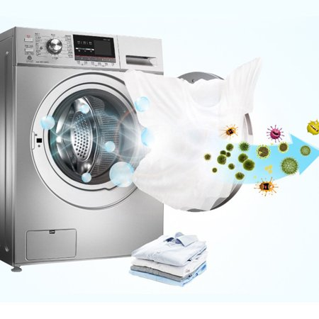 Comaie Washing Machine Tank Cleaning Agent Drum Type Washing Machine Cleaning Effervescent Tablets for Sterilization Household Decontamination Descaling - image 3 of 9