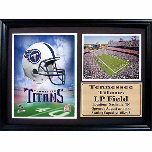 NFL 12x18 Photo Stat Frame, Tennessee Titans