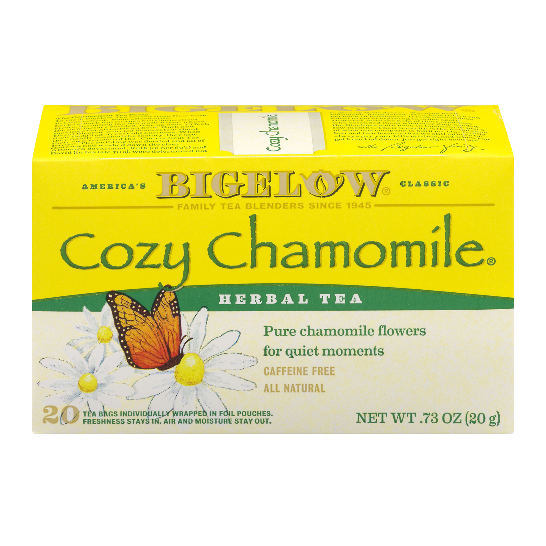 Bigelow Herbal Tea Bags Cozy Chamomile - 20 CT20.0 CT