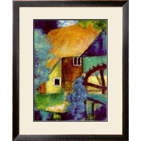 Alie Kruse Kolk.Water Mill Framed Art Print Wall Art By Alie Kruse Kolk 30x36