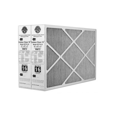 Lennox X6672 16x25x5 MERV 16 Furnace Filter - 2 Pack