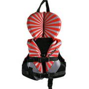 All Purpose Character, Red - Lightweight Neoprene, EPE foam; Child Life Vest