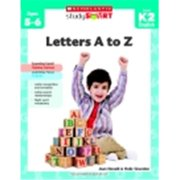 Scholastic Study Smart Letters A To Z, Ages 5-6