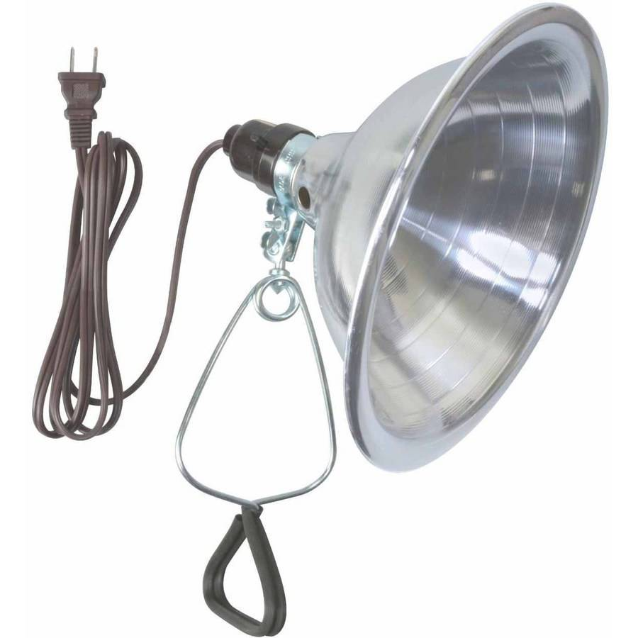 "Woods 0151 18/2-Gauge SPT-2 Clamp Lamp with 8.5"" Reflector, 150-Watt, 6-Foot Cord"