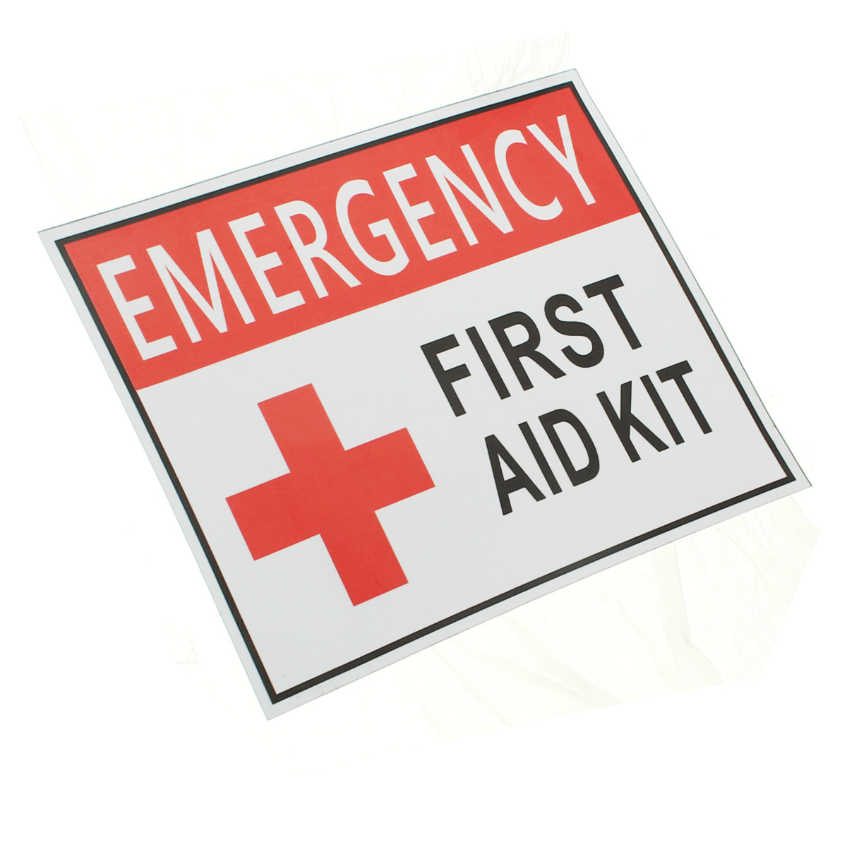 Careful New Outdoor 4 Size First Aid Emergency Vinyl Sticker Waterproof Label Signs Red Cross Health Sticker Back To Search Resultssecurity & Protection