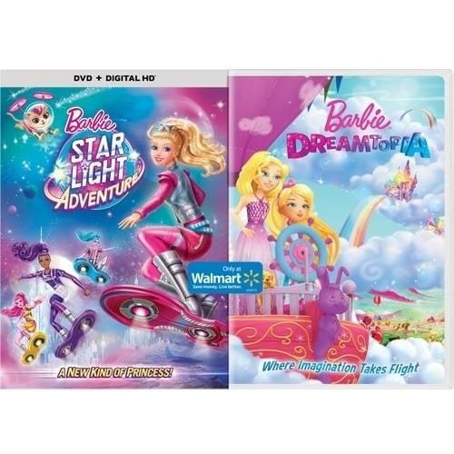Barbie Star Light Adventure (DVD + Digital Copy)   Barbie Dreamtopia (Walmart Exclusive) by
