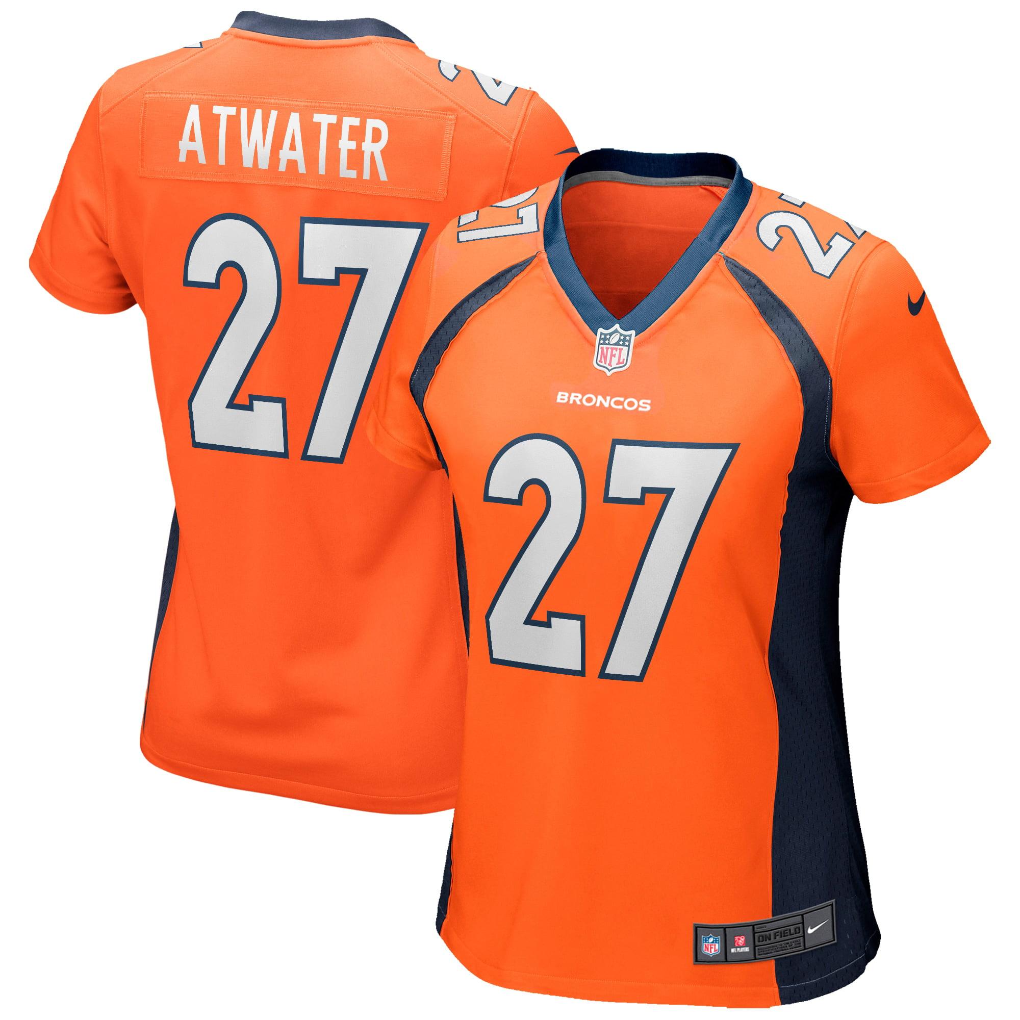 Steve Atwater Denver Broncos Nike Women's Game Retired Player Jersey - Orange - Walmart.com