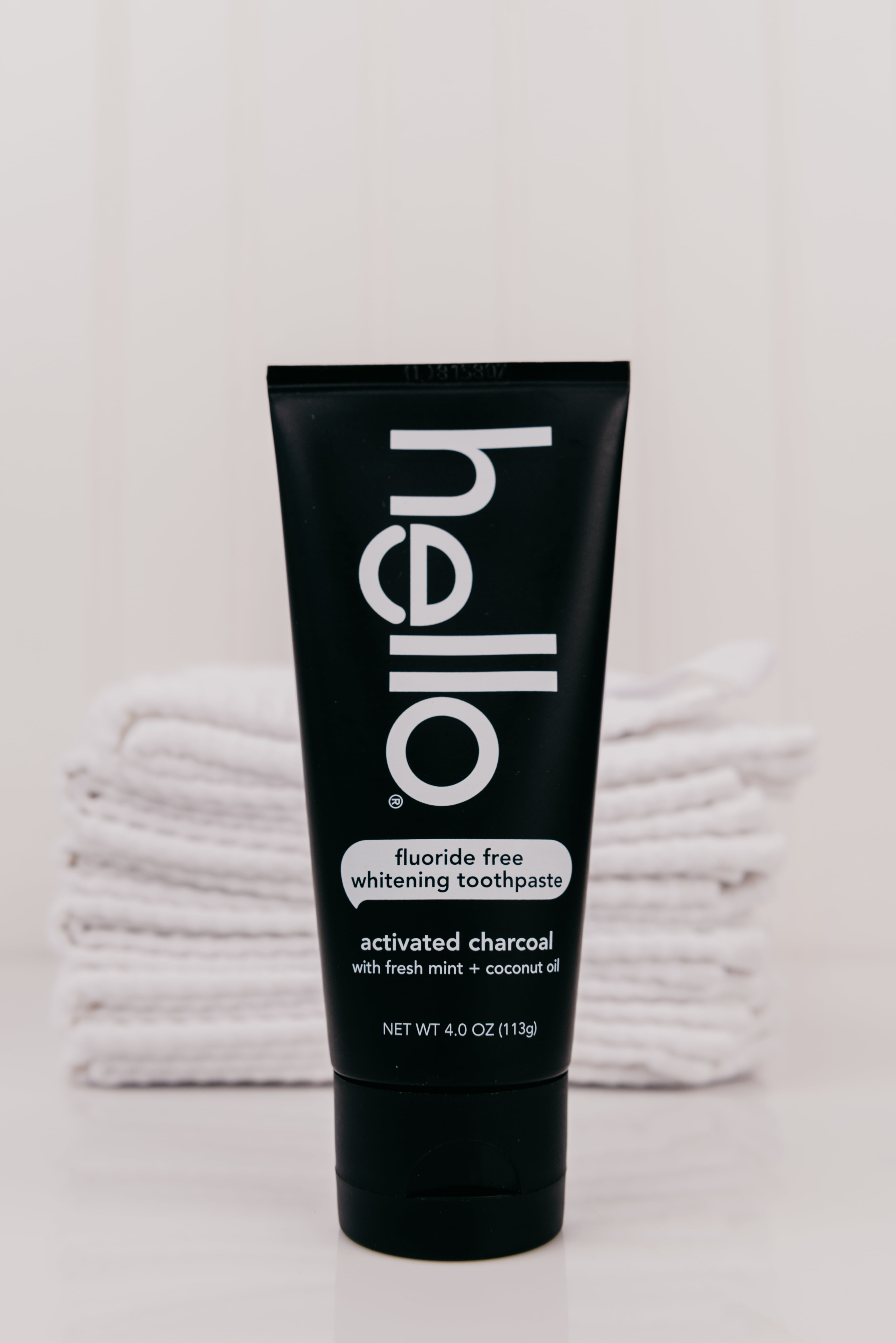 Hello Activated Charcoal Fluoride Free Whitening Toothpaste Vegan