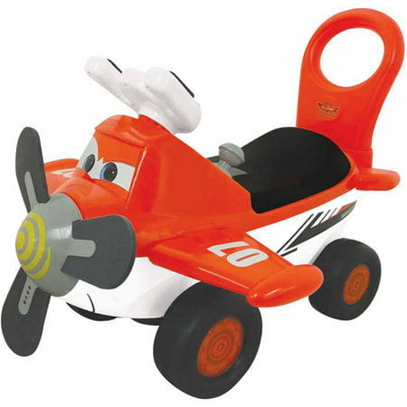 Kiddieland Disney Planes Fire & Rescue Dusty Activity - Gliding Plane
