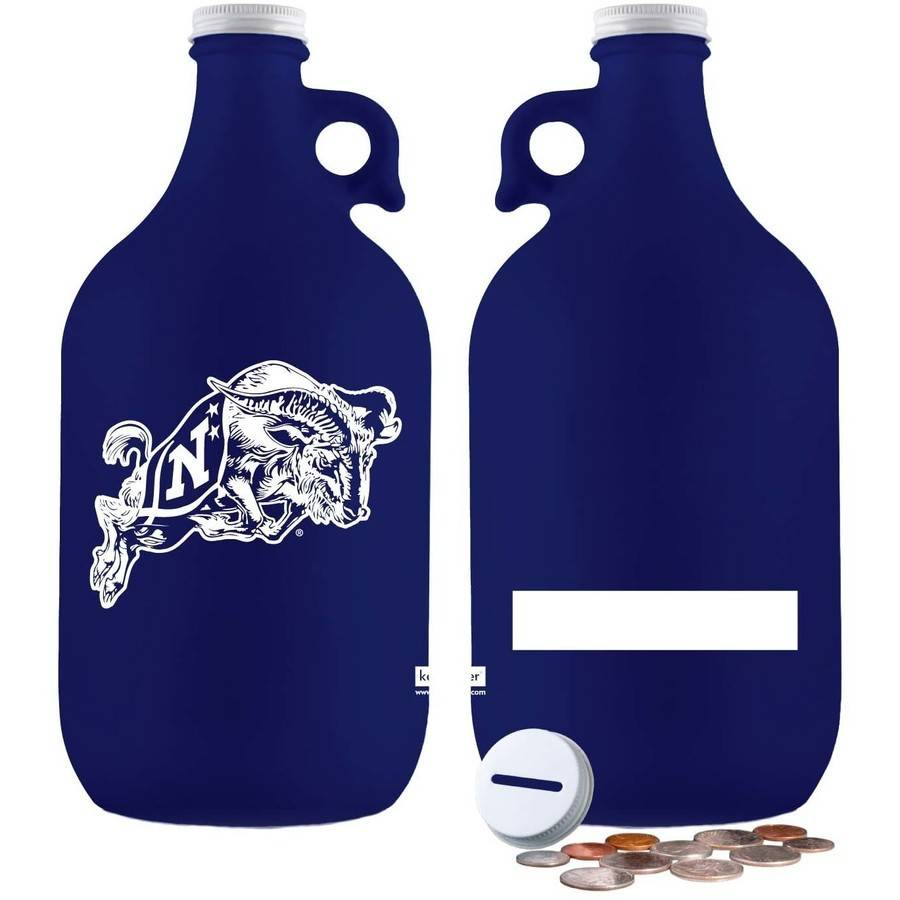 NCAA Navy Midshipmen 64 oz Amber Jug